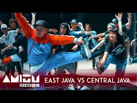 East Java vs Central Java | City vs City Exhibition Battle | Eat D Beat AMITY 2017 Bandung