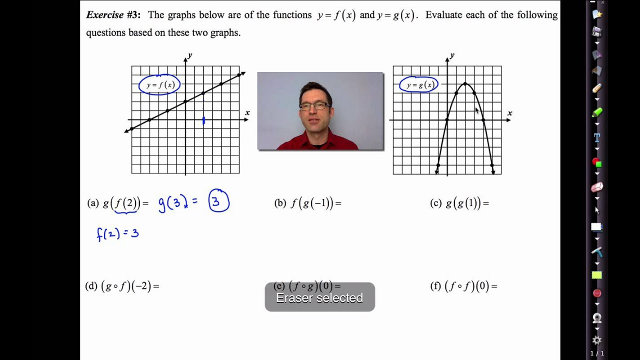 Common Core Algebra II Unit 2 Lesson 3 Function Composition