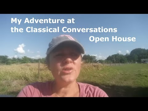 My Adventure at a Classical Conversation Open House