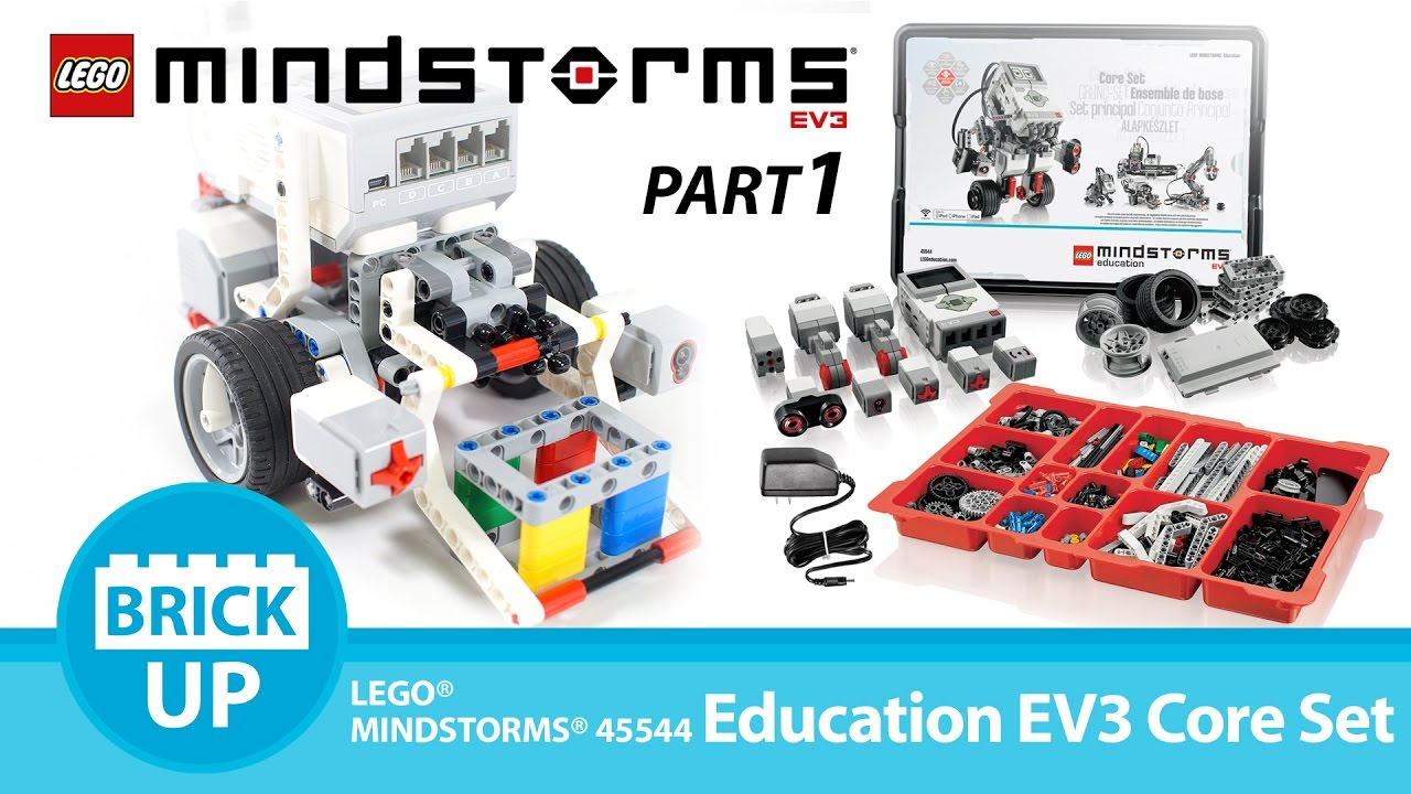 Lego 45544 Mindstorms Education Ev3 Core Set Part1 Youtube