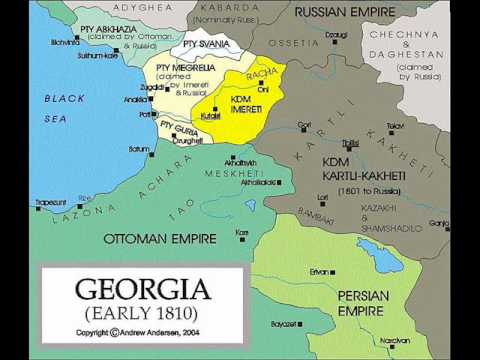 History Of Georgia (With Maps) - YouTube