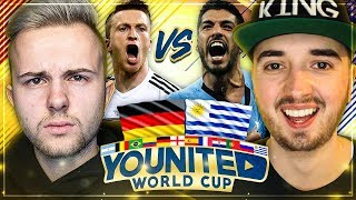 FIFA 18: YOUnited WORLD CUP GamerBrother vs MarcelScorpion 😱🔥 Gruppenspiel #2