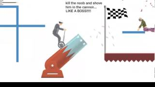 Total Jerk Face:USER MAPS -Happy Wheels- Part1