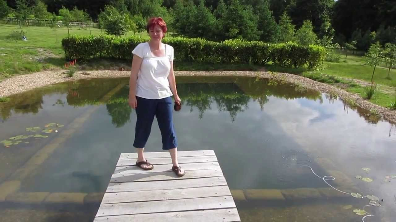 Joanna builds her own natural pool youtube for How to build your own house in florida