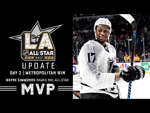 outlet store ba039 cd95a Wayne Simmonds named NHL - All Stars 2017. MVP!