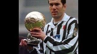 Zinédine Zidane - Il pallone d'oro  (1998)