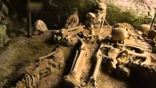 Pompeii first discovery 1758 documentary story of eruption of Vesuvius in AD79 Herculaneum