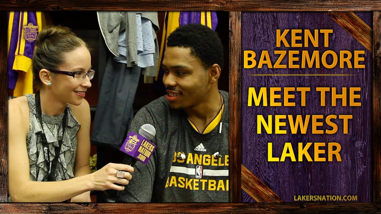Lakers Nation Interviews Kent Bazemore: Get To Know The Newest Laker