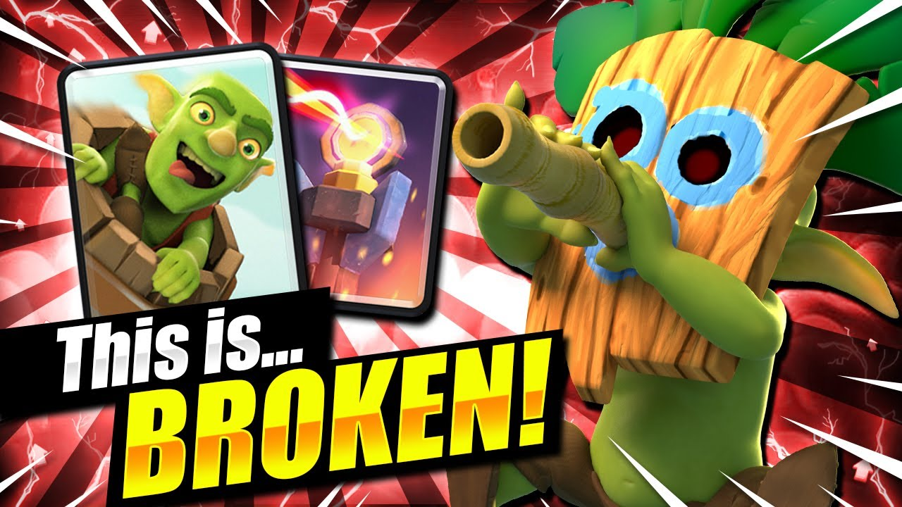 THIS DECK IS 100% BROKEN!! FASTEST GOBLIN BARREL CYCLE!! - Clash Royale