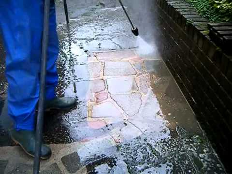 Cleaning Weeds and Moss - Ultra Power Pressure Washing