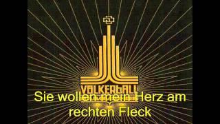 Rammstein-Links 2 3 4 (Letra en Aleman)