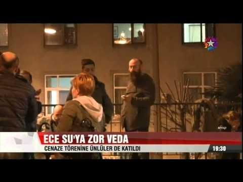 Halit Ergenç Eşi Bergüzar Korel Ve Diğer Ünlüler Ece Su Yılmaz'ın Cenaze Töreninde - 16.03.2014