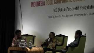 The Indonesia Corporate Governance Award 2013: Talkshow