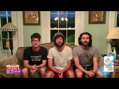 """AJR performs """"Bang!"""" on TODAY 