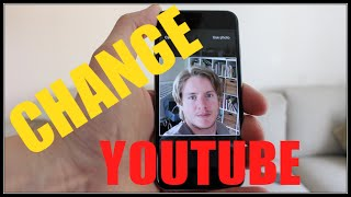 How To Change Youtube Picture On IPhone / Phone 2016