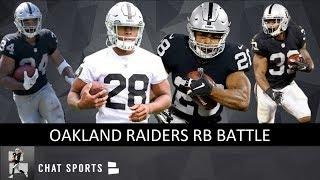 Raiders 2019 Depth Chart: Josh Jacobs Oakland's Workhorse, Plus Chris Warren & Doug Martin Battle