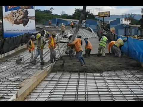 Fundici n de losa de concreto ingenier a civil youtube for Losa techo