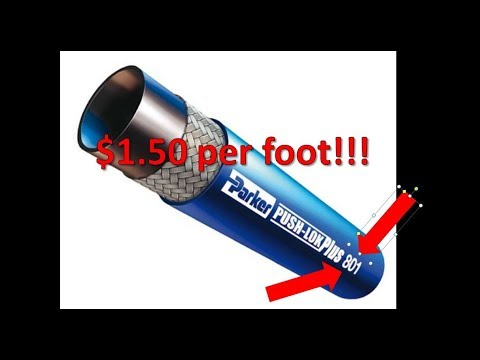 Low Cost Submersible Fuel Hose