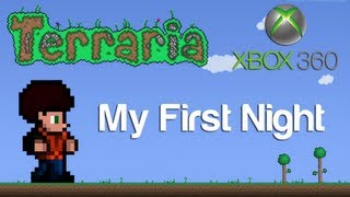 Terraria Xbox - My First Night [1]