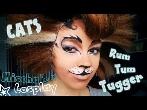 Rum Tum Tugger Make up from CATS [HD] 🐾