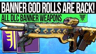Destiny 2 | NEW IRON BANNER WEAPONS! Forsaken God Rolls, All Weapons & Best Perks Guide!