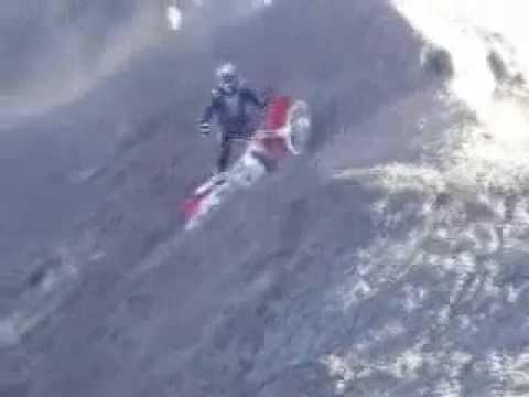 Dirt bike hill climbs