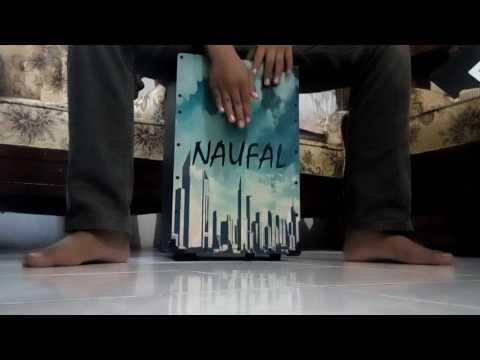 Adera Lebih indah cajon cover by Naufal