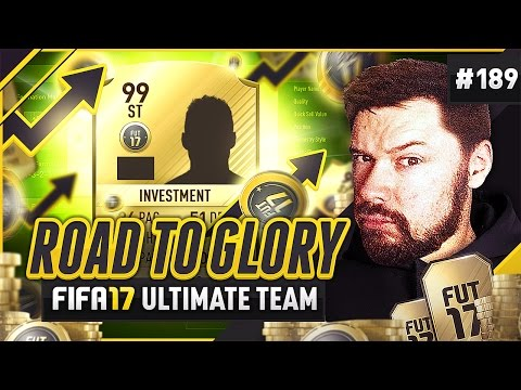 FUT BIRTHDAY INVESTING! - #FIFA17 Road to Glory! #189 ultimate team