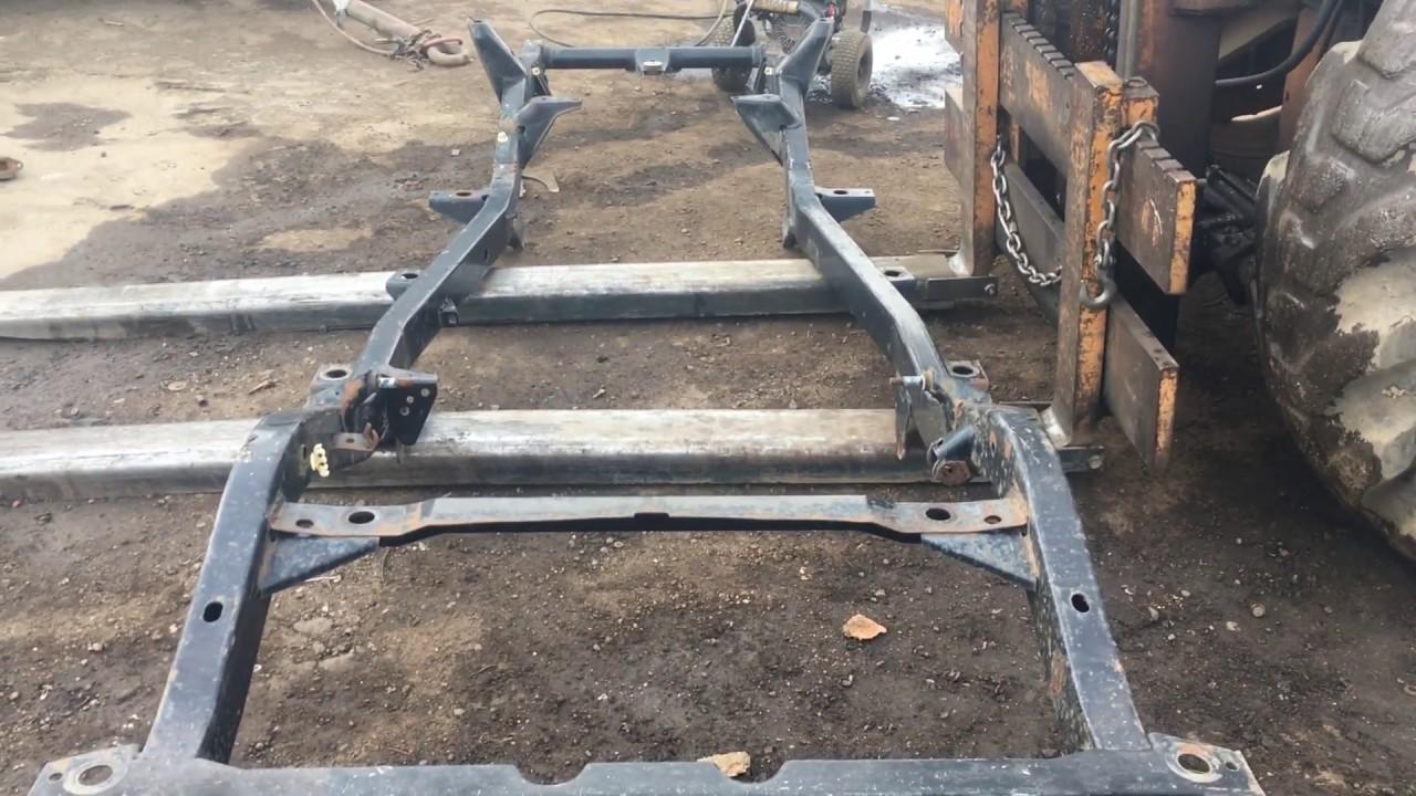 87 95 jeep wrangler yj 2 5 4 cylinder frame chassis for sale 303 666 9020 jeepsunlimited net. Black Bedroom Furniture Sets. Home Design Ideas