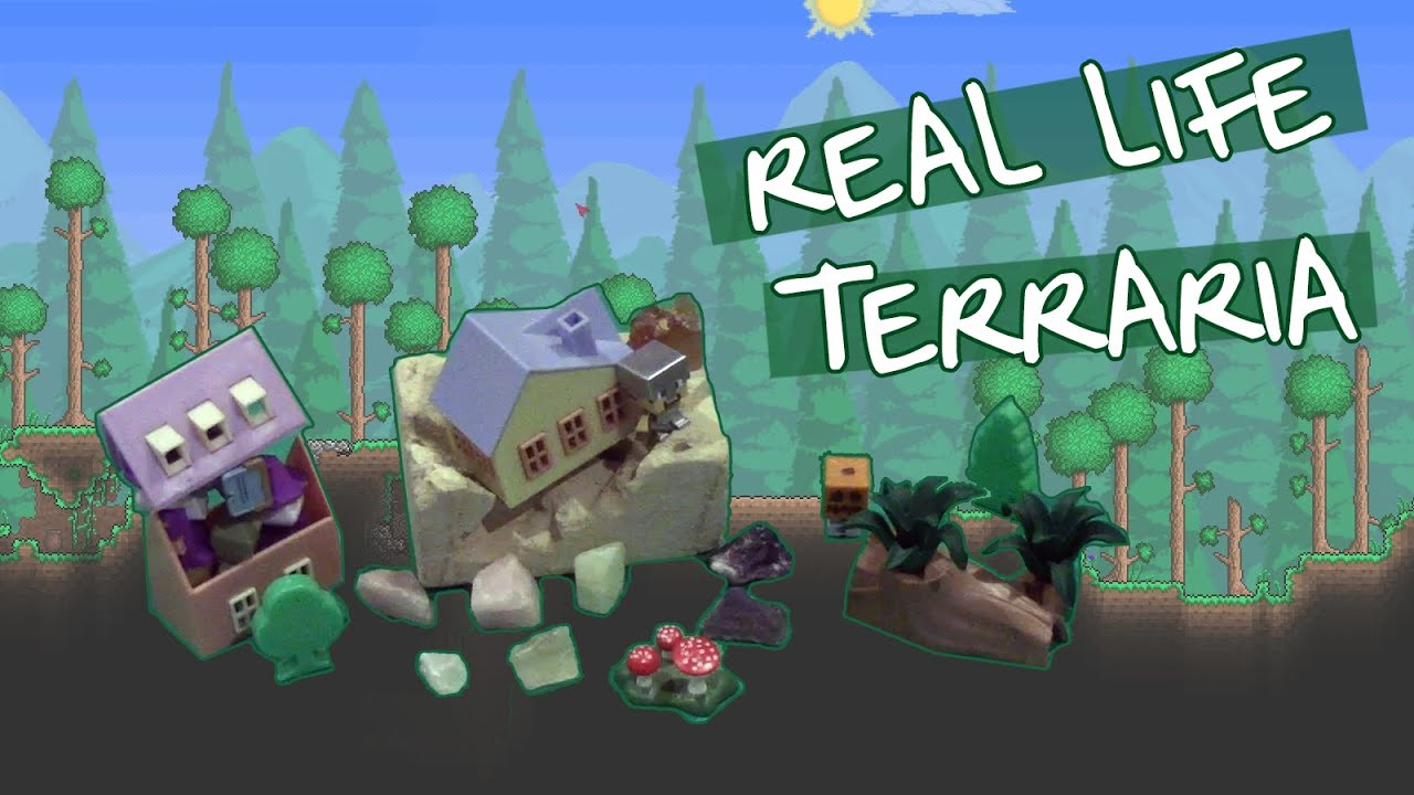 Real Life Terraria Youtube