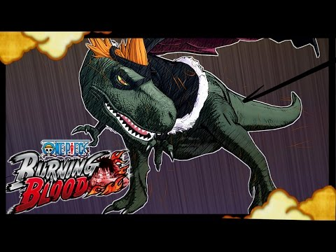 One Piece Burning Blood - X Drake GAMEPLAY Online Ranked Match !