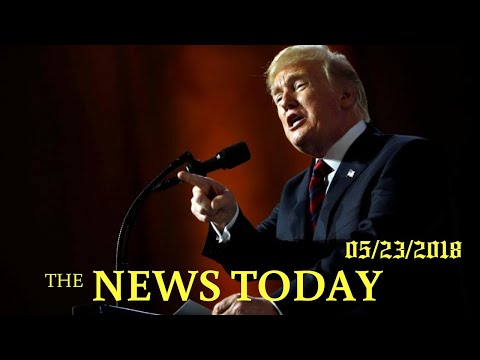 Trump Teases 'big News' For U.S. Auto Workers, Offers No Details | News Today | 05/23/2018 | Do...