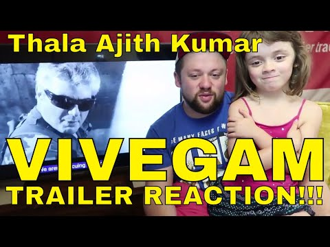 VIVEGAM Trailer Reaction!!! THALA AJITH KUMAR #VivegamTrailer
