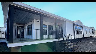The Lulabelle By Buccaneer Home Builders 4 Beds And 2.5 Baths 32 X 80 2132 Sq Ft