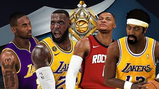 LEGENDS KOBE, LEBRON, WILT and WESTBROOK TAKEOVER the RUSH 1v1 EVENT in NBA 2K20