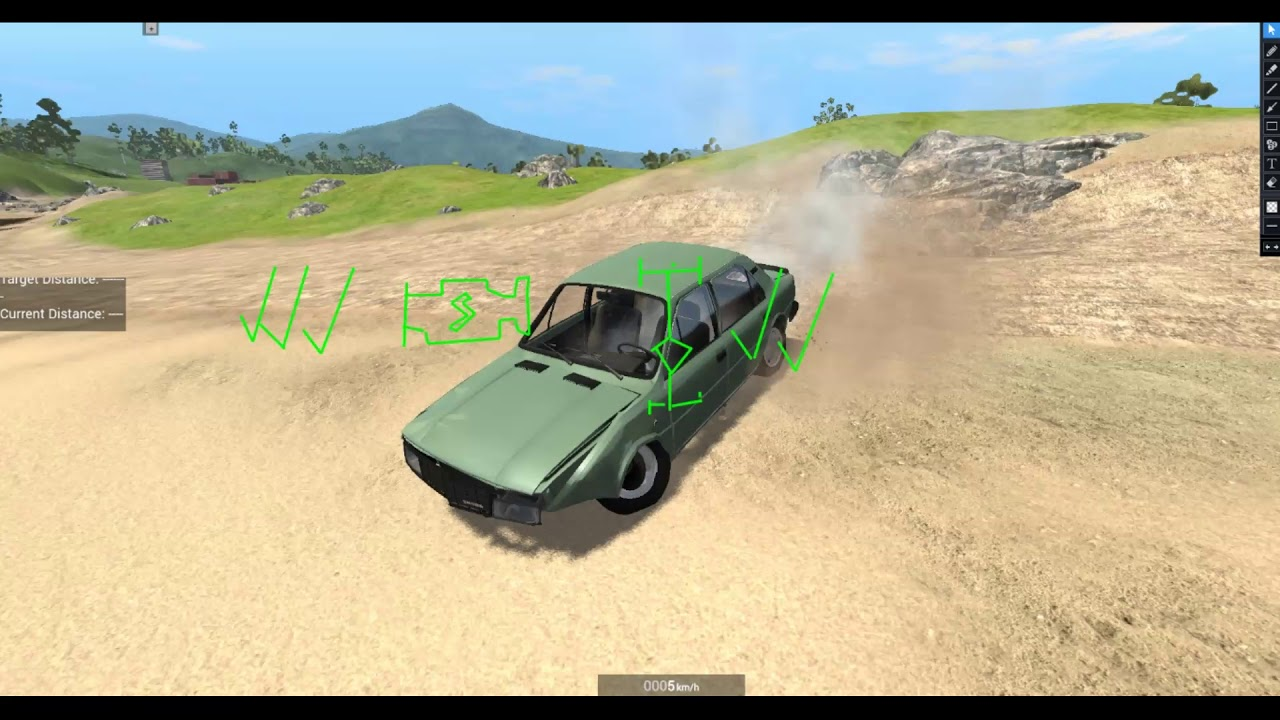 Beamng High Speed Car Crashes #1