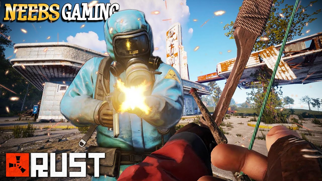 Gas Station Takeover!!! - RUST