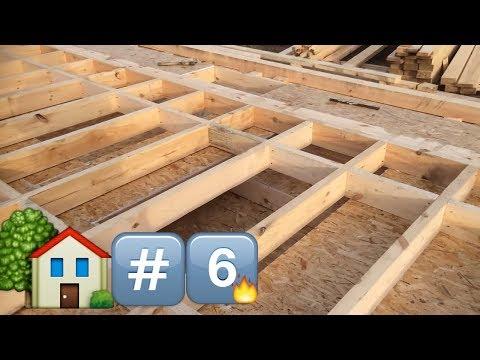 видео: День 6. Четвертая стена. Строим Каркасный дом/day 6. fourth wall. build frame house