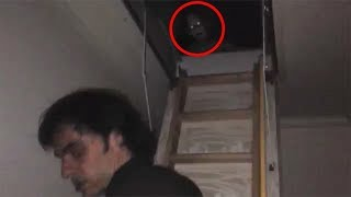 Top 10 Scary Ghost Sighting Caught On Camera   Scary Paranormal Activity Videos