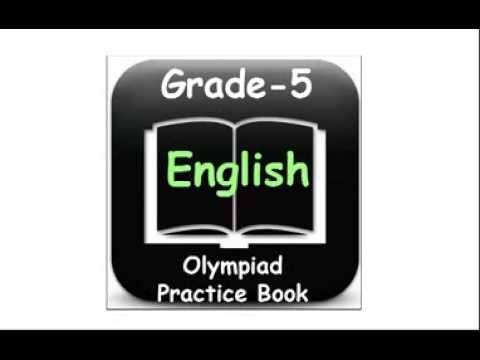 Olympiad English 5th Class Practice Worksheets For Kids  Youtube