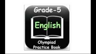 Olympiad English 5th Class Practice Worksheets For Kids