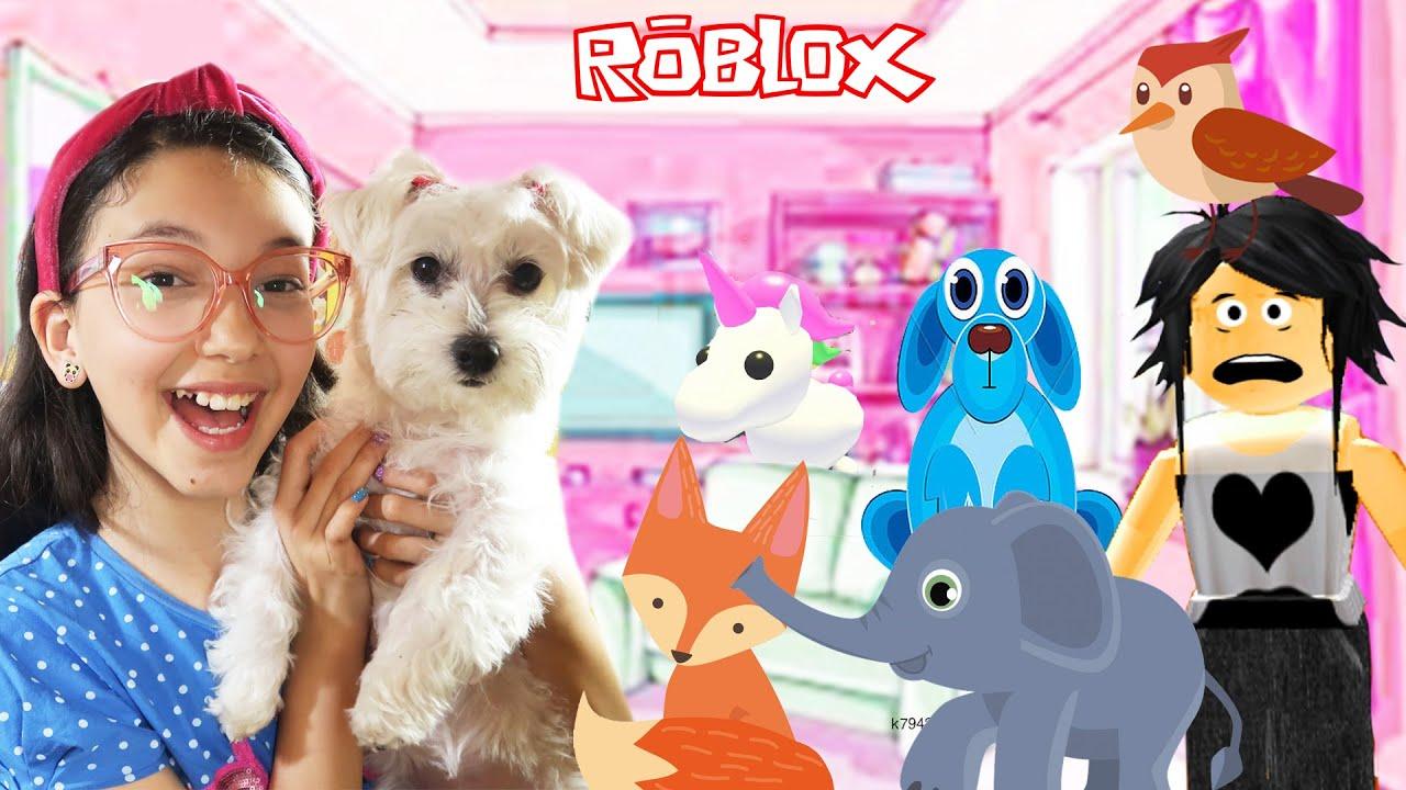 Roblox - MINHA CASA VIROU UM ZOOLÓGICO (Adopt Me) | Luluca Games