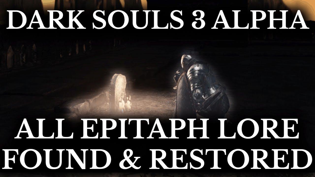 Геймер нашел в Dark Souls 3 вырезанный контент, раскрывающий сюжет