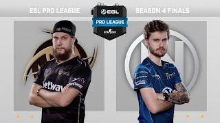 CS:GO - NiP vs. EnVyUs [Dust2] Map 2 - Quarterfinal - ESL Pro League Season 4