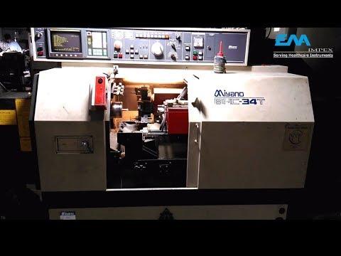 Manufacturing of Dental Syringe | Miyano BNC 34T automatic CNC lathe | Procution Tour