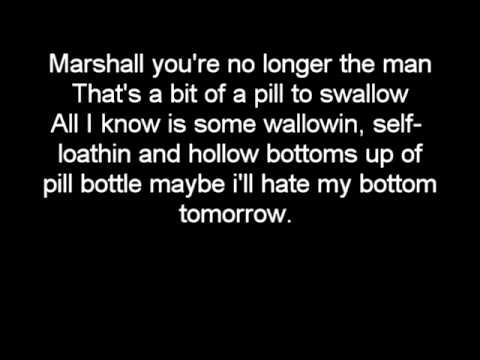 Eminem - Recovery - 02. Talkin 2 Myself Lyrics