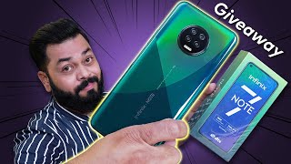 Infinix Note 7 Unboxing And First Impressions | Giveaway ⚡⚡⚡ Helio G70, Big Display & More