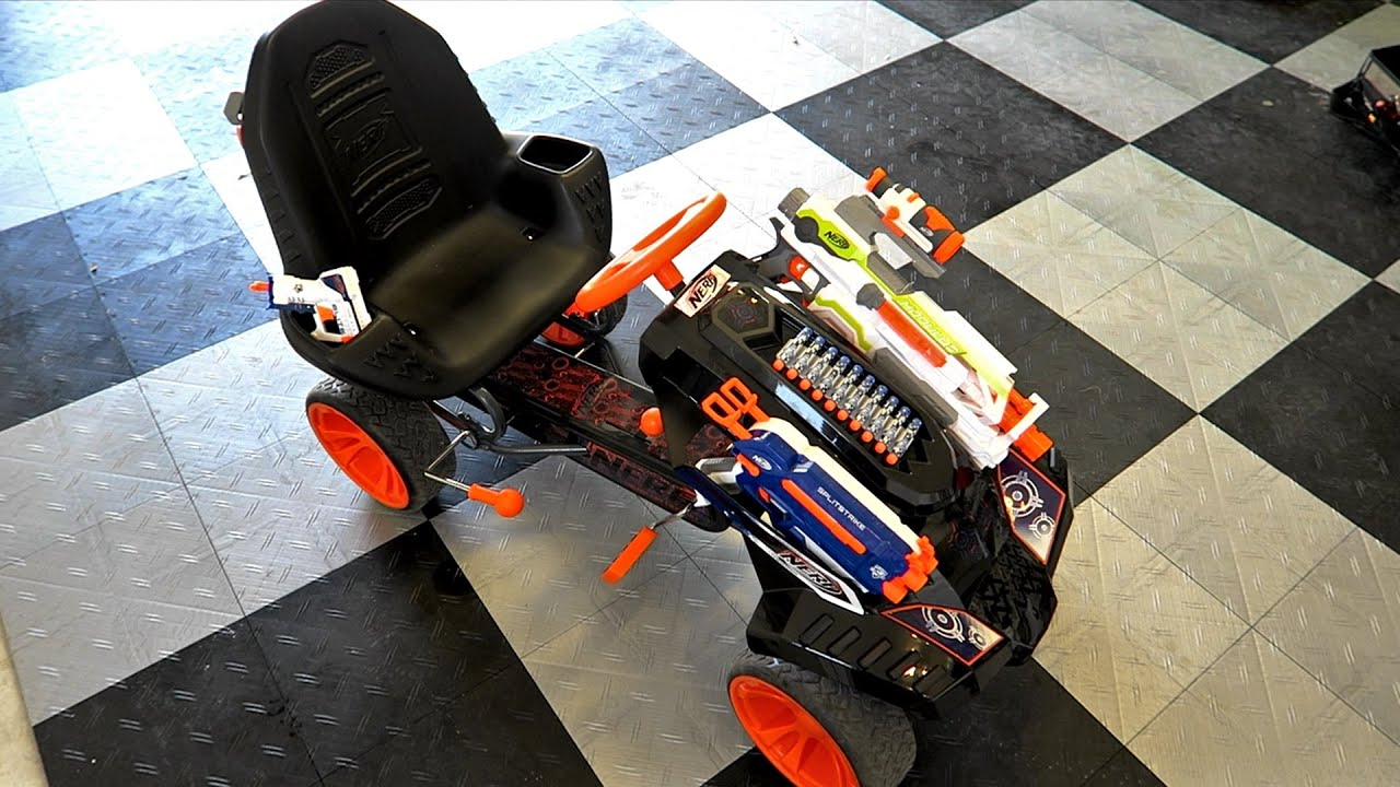 Nerf Battle Racer Review and Stress Test