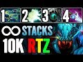 Electric Gunner Weaver Arteezy Dota 2 10K MMR Build So Badass