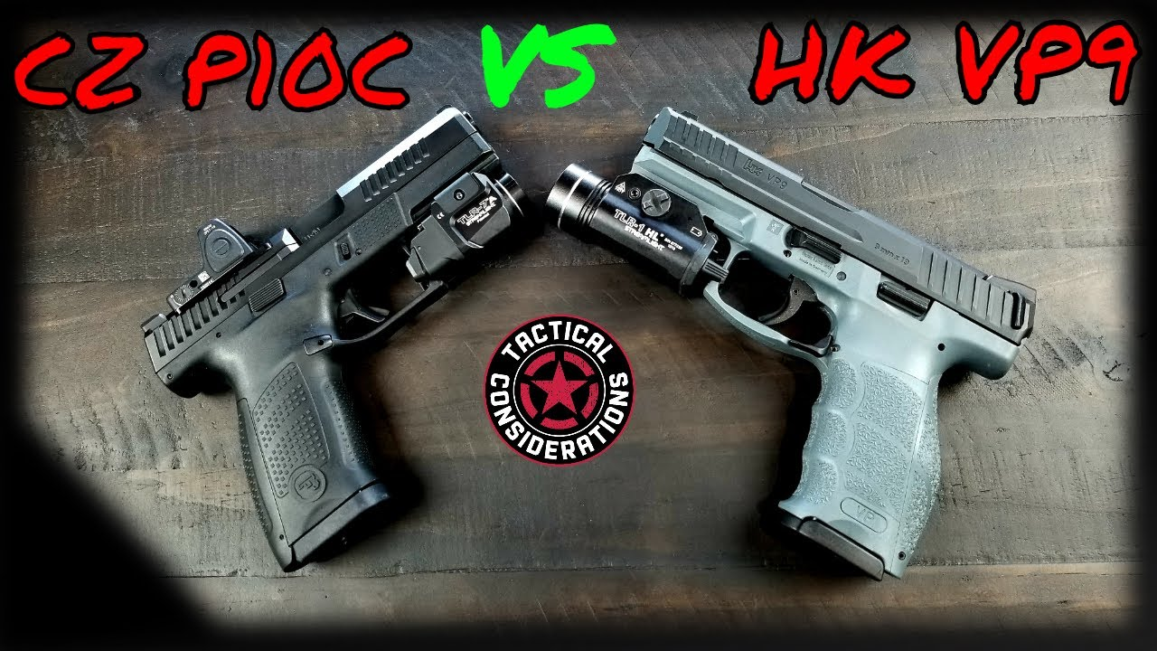 Hk VP9 VS CZ p10C Compact Love!